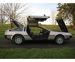 1983 DeLorean DMC 12