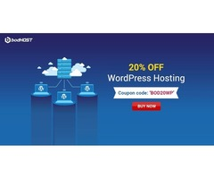 bodHOST offer: Get 20% OFF on WordPress Hosting