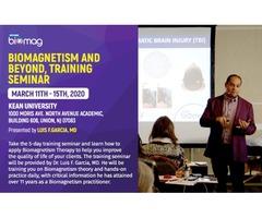 Biomagnetism and Beyond Training Seminar USA Mar 11th-15th, 2020