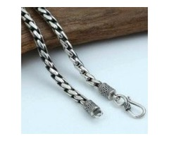 Sterling Silver Chain Mens