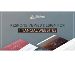 Effective Financial Advisor Website Design Services By AltaStreet