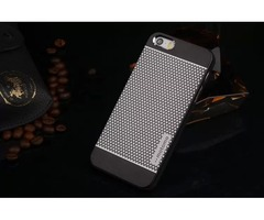 brand MOTOMO Brushed Metal Aluminium Alloy + Hard PC Case For iPhone 5 5S 6 Luxury Cell Phone Cases