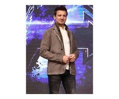 Jeremy Renner Avengers: Endgame Suede Leather Jacket
