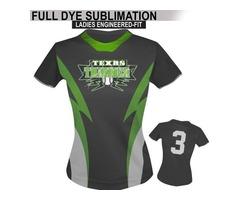 Zeeni Sports makes softball shirts, apparel and uniforms for softball American teams.