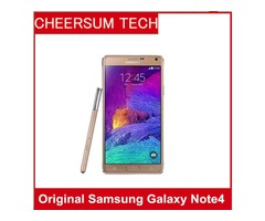 Original Samsung Galaxy Note 4 Unlocked Cell Phone 16mp Camera 3gb Ram and 32gb Rom 3g/4g 5.7 Touch