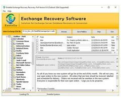 Exchange mailbox EDB to PST converter software