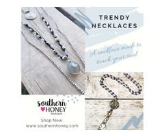 Add Trendy Earrings to your jewelry box from Southern Honey Boutique