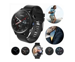 "New KOSPET HOPE 4G WiFi Smart Watch 3+32GB 8MP 1.39"" Android 7.1 Quad Core Phone GPS"