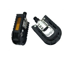 Outdoor Bicycle Bike Foldable Two Sides Aluminum Alloy Bearing Pedals