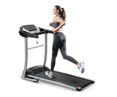 Save 80% Chocity Electric Folding Treadmill Motorized Running and Jogging Fitness Machine