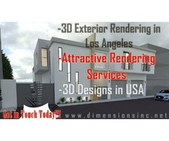 Improve Your Architectural Project's Scalability with 3D Exterior Rendering in Los Angeles