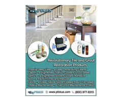 Stone Tile Floor and Grout Cleaning and Sealing Products