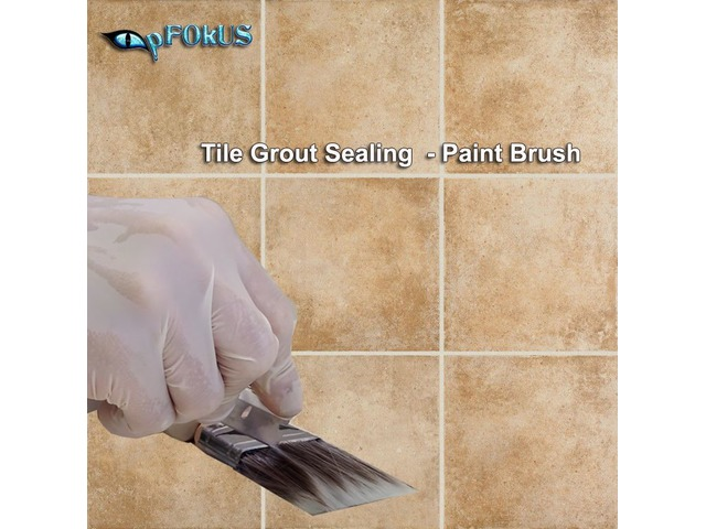 Grout Paint Brush | For Sealing Grout Lines | free-classifieds-usa.com