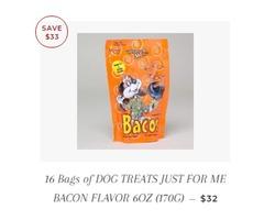 100 Bags (30 oer bag) CBD Dog Treats