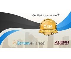 Scrum Master Certification (CSM) Certification Course- Aleph Technologies