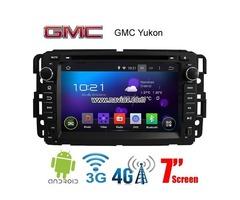 GMC Yukon Android 4.4 Car Radio WIFI 3G 4G DVD GPS Player multimedia