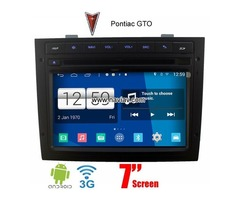 Pontiac GTO Android 4.4 Car WIFI 3G GPS Radio multimedia DVD