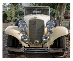 1933 Cadillac V12 All-Weather Phaeton
