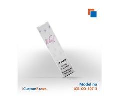 Get Cardboard Custom lip balm display boxes from us