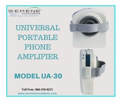 Universal Portable Phone Amplifier by Serene Innovations