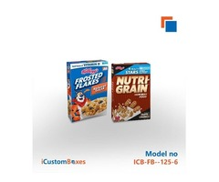 Get Cardboard personalized cereal box from us
