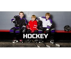 Sports-Youth hockey training
