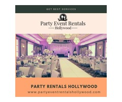 Party Rentals Hollywood