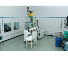 High quality of products builds by Cleanroom molding small batch