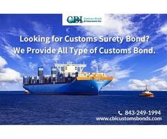 Get Customs Surety Bond immediately