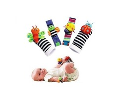 Butterfly Baby Socks That Rattles – 3 To 12 Month Boy & Girl