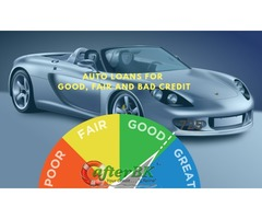 Get Auto Loans for Good, Fair and Bad Credit With AfterBk
