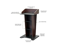 Lectern with a Modern Look - multimediafurniture.com