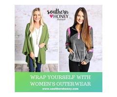 Shop Women's Outerwear: Coats, Vests, Jackets At Southern Boutiques