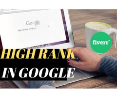 I will create high PR seo backlinks to promote google ranking