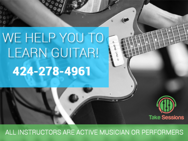 Guitar Lessons in Los Angeles by Take Sessions | free-classifieds-usa.com