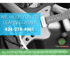 Guitar Lessons in Los Angeles by Take Sessions