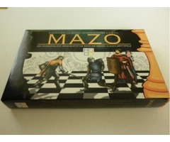 Board games not only for children. Chess difficult? Checkers boring? Play mazo!