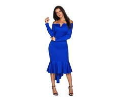 Wholesale Women Birthday Party Dress Evening Party Dress