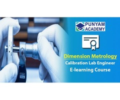 E-learning Course for Dimensional Instruments Calibration Training