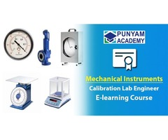 Mechanical Instruments Calibration Training - E-learning Course