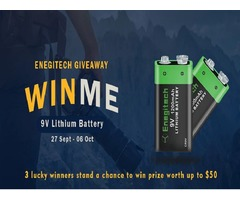 Giveaway Contest: Get a Chance to Win the most powerful 9V