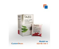 Get Eco Friendly Wholesale tea box At iCustomBoxes.