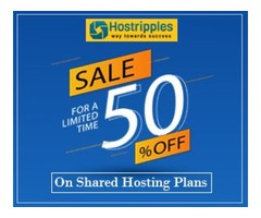 Get Flat 50% OFF on Web Hosting
