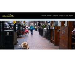 Advertise your pet for Free