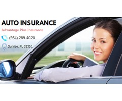 Apply For An Affordable Car Insurance. With Advantage Plus Insurance