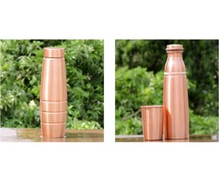 Shop for copper seamless matte finish bottles at affordable prices