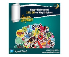 Happy Halloween! 25% off on Vinyl Stickers | RegaloPrint | free-classifieds-usa.com