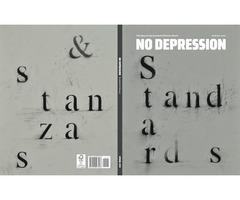 Quarterly Print Journal Standard & Stanzas - No Depression Store