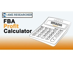 Amazon Seller FBA Calculator, Fee & Pricing Fulfillment by AMZ  AMZresearcher
