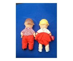 2 Vintage  Campbell's Soup Kid Dolls 10